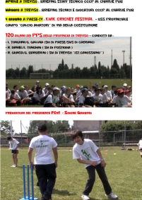 Rosi Giunta 2009/2010 – Progetto: Sport Casteller - Cricket