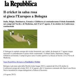 2013.08 La Repubblica