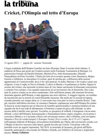 2013.08 La Tribuna